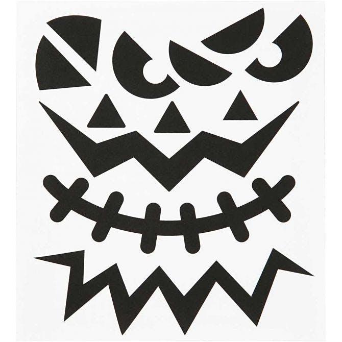 Klistermärken Halloween