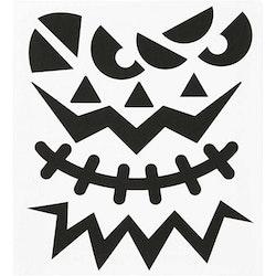 Stickers, Halloween, Ansikten