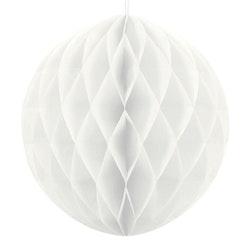 Honeycomb boll, vit