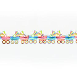 Pappersgirlang, barnvagnar