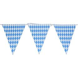 Flaggvimpel, Oktoberfest, Blå och vit