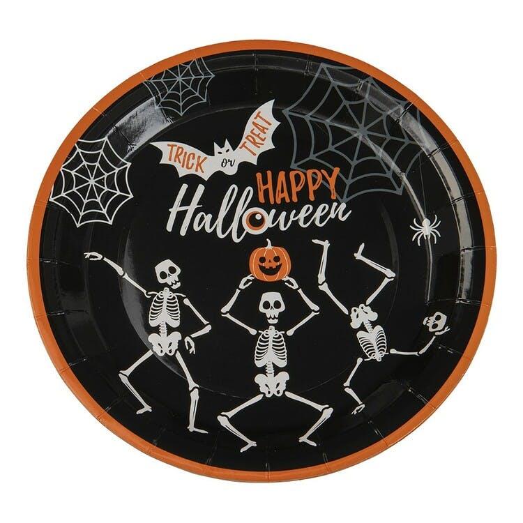Engångstallrikar Halloween