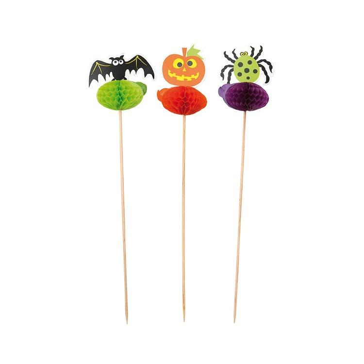 Halloween cake picks