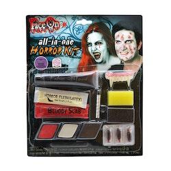 Sminkset, Halloween, Horror