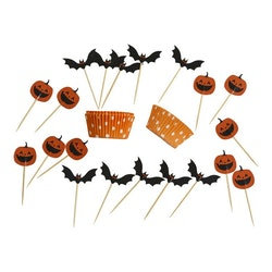 Cup Cake Kit, Halloween, 20-pack