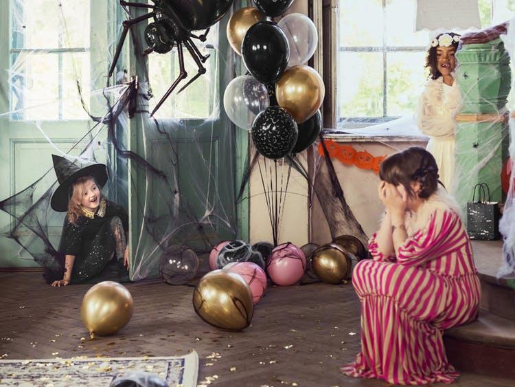 Spindelnät, Halloween, Svart