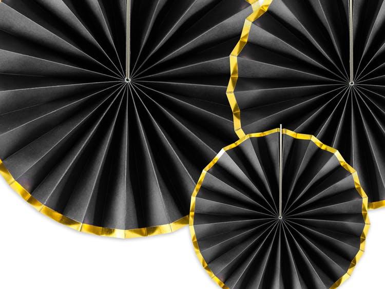 Pin Wheels, Svart och guld