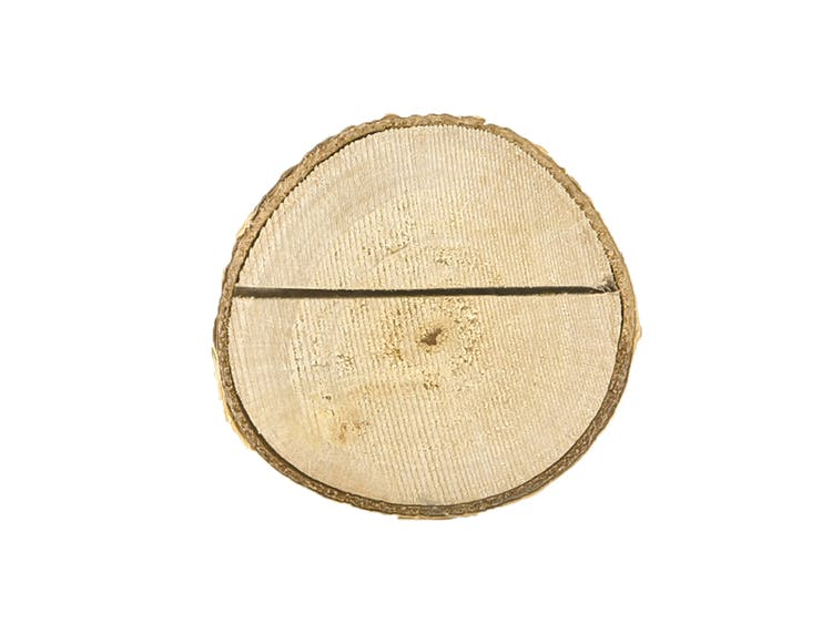 Placeringskortshållare, trä, 10-pack