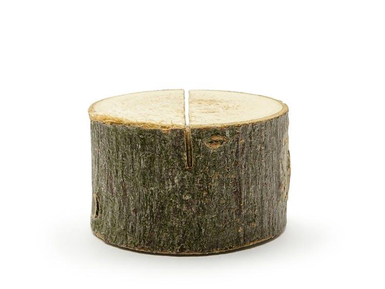 placeringskortshållare i trä