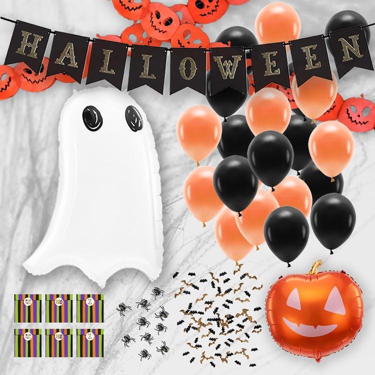 Halloween dekoration paket