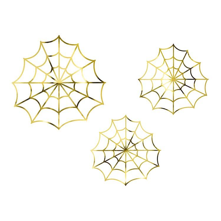 Dekoration Halloween spindelnät