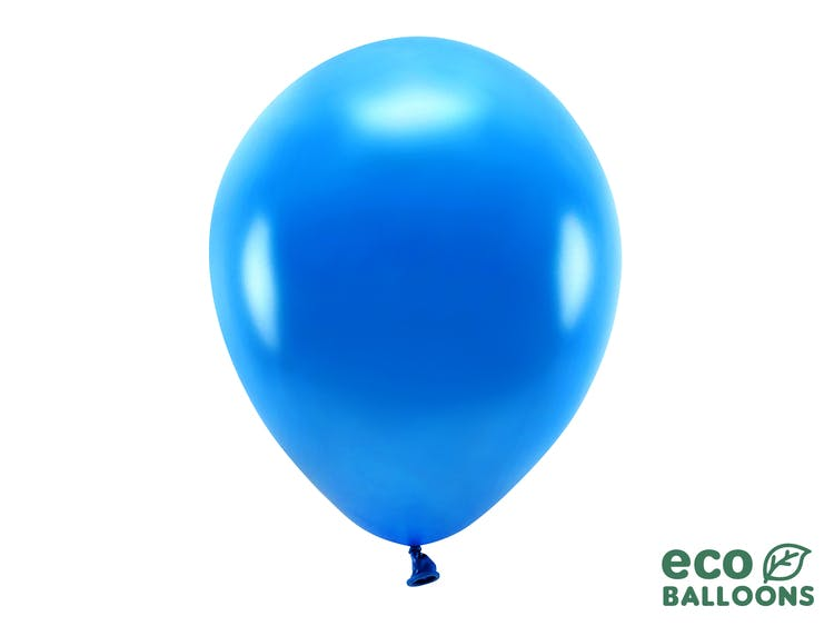 Ballongbåge paket, gul/blå
