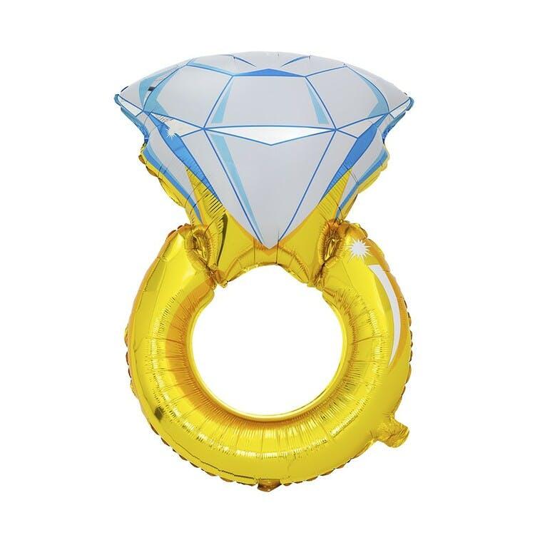 ballong bröllopsring