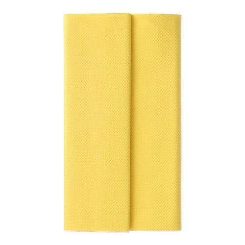 gul bordsduk i papper