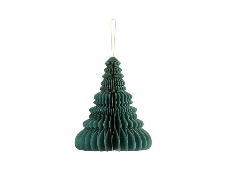 Honeycomb, julgran, mörkgrön