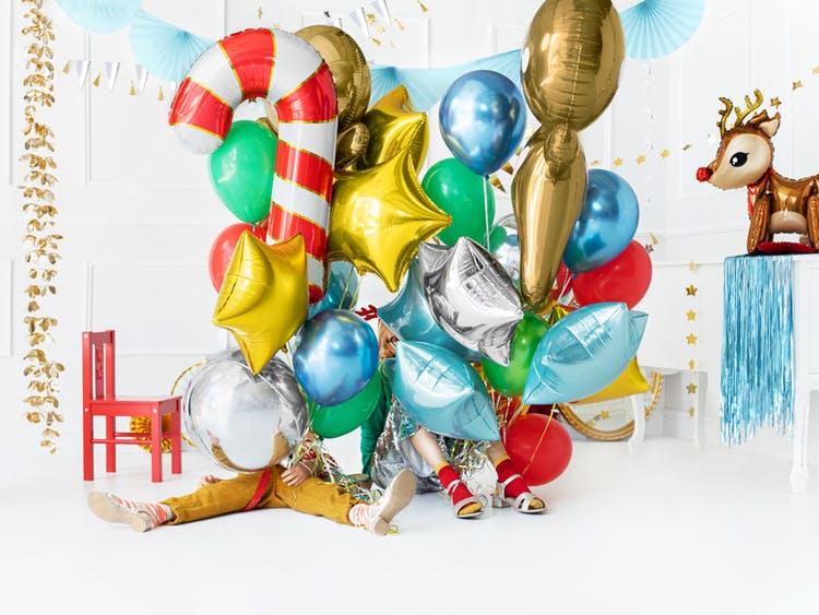 Folieballong, ren