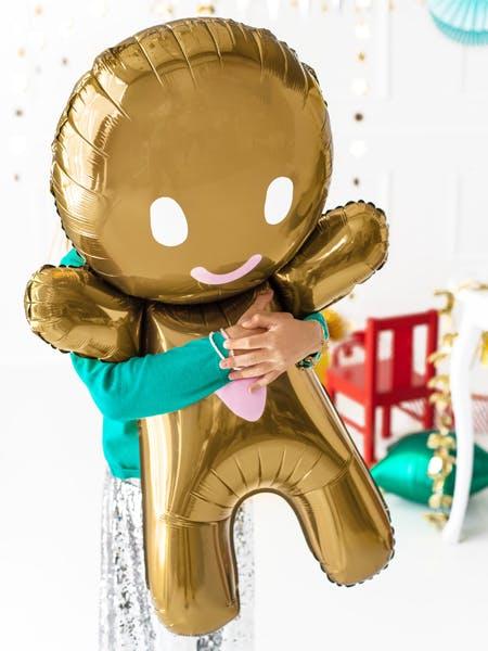 Folieballong, Pepparkaksgubbe