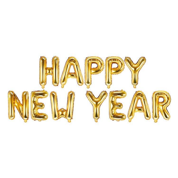 Happy new year ballong