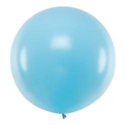 Ballong, jumbo, pastell blå