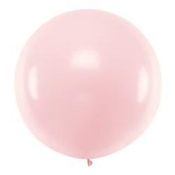 Ballong, jumbo, pastell rosa