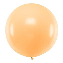 Ballong, jumbo, pastell orange