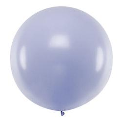 Ballong, jumbo, pastell lila