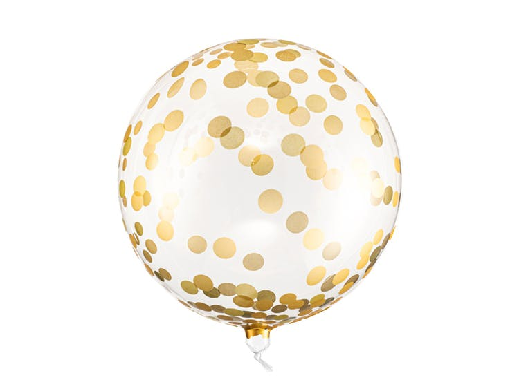 Orbz ballong guld