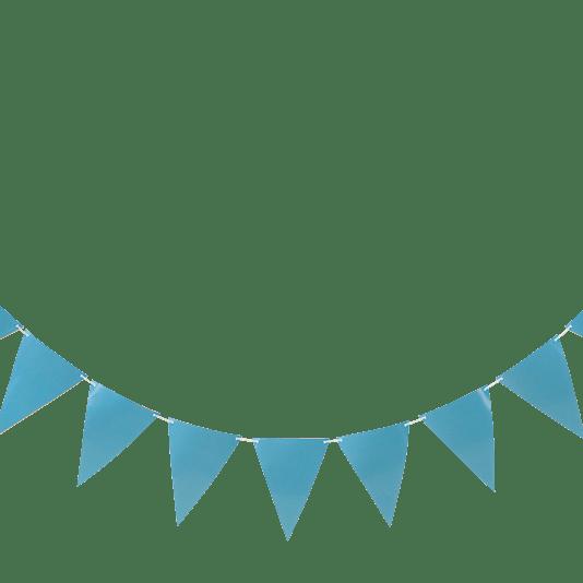 2-års kalas kit, blå/silver