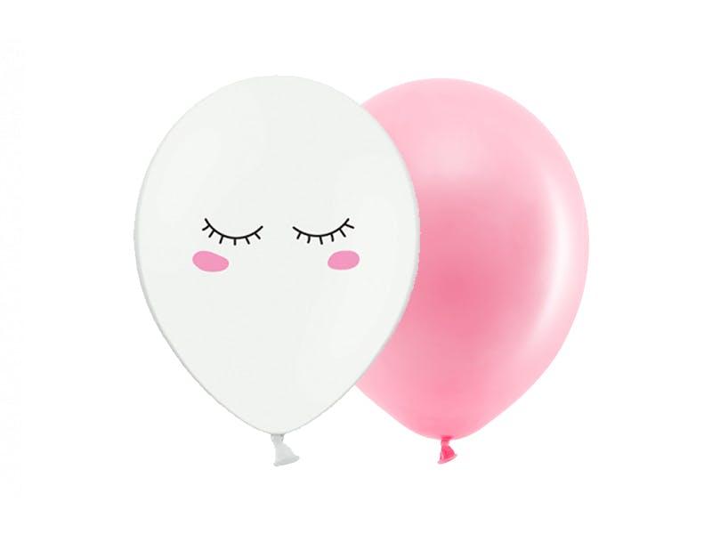 2-års kalas kit, roséguld/rosa
