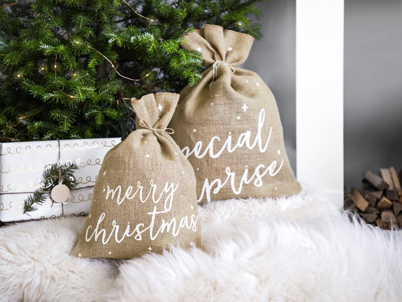 Jutesäck, Merry Christmas