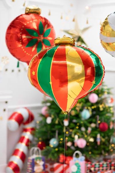 Folieballong, julkula