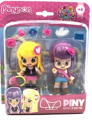 Pinypon by Piny Klasskompisar Lilith & Julia