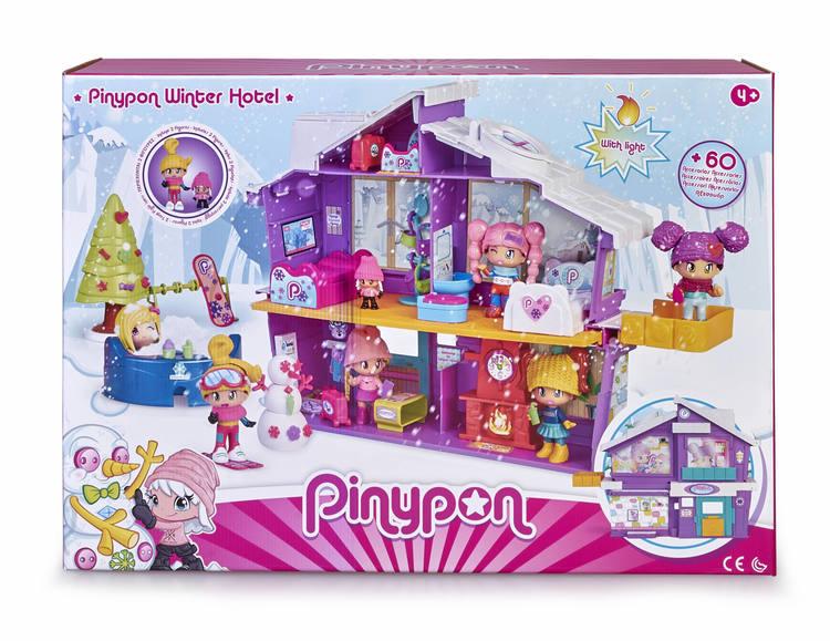 Pinypon Vinter Hotell
