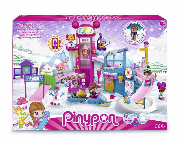 Pinypon Vinter nöjespark