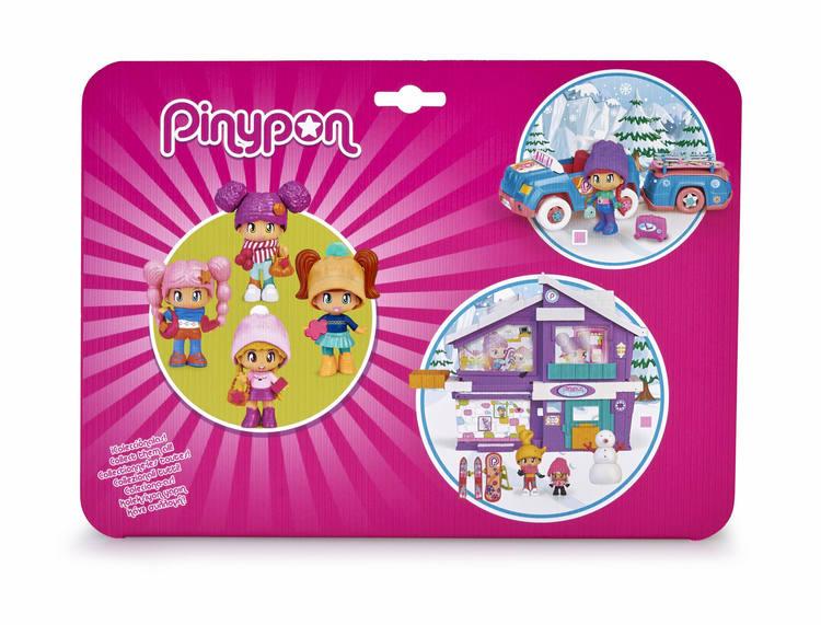 Pinypon Vinter Figurer 4-pack