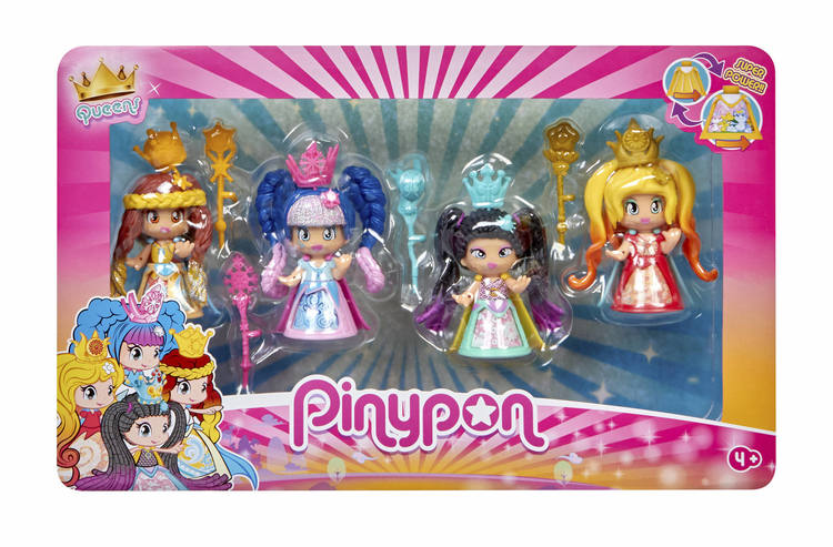 Pinypon Drottningar 4-pack