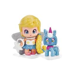 Pinypon Star & Pet Gul/Blå