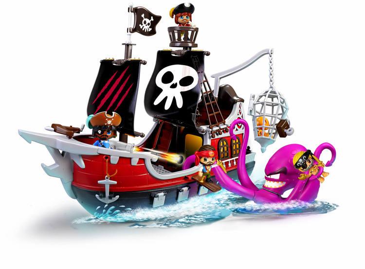 Pinypon Action Piratskepp Kraken