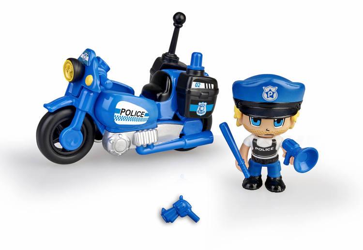 Pinypon Action Polismotorcykel