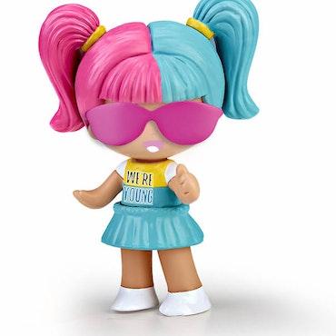 Pinypon New Look Harley Rosa/Turkos