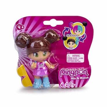 Pinypon New Look Zendaya Brunt hår