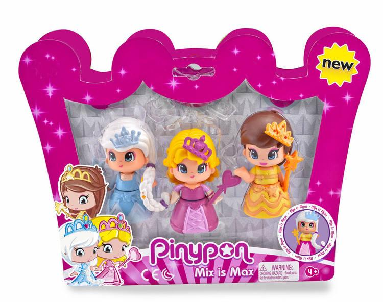 Pinypon Princess 3-pack