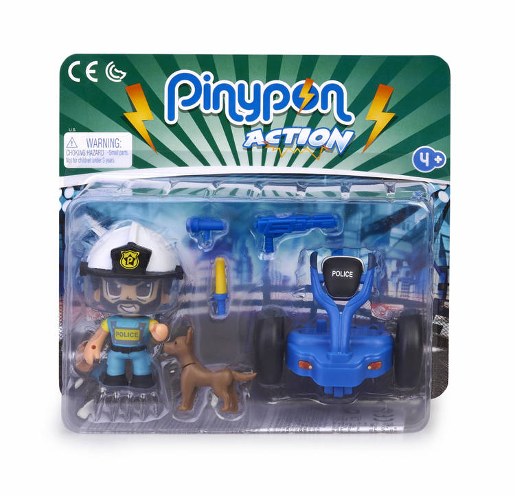 Pinypon Action Polis Segway