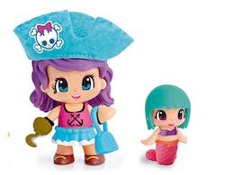 Pinypon Pirat & Sjöjungfru Sweety turkos hatt