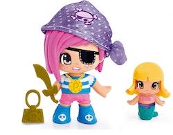 Pinypon Pirat & Sjöjungfru Lacy lila sjal