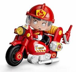 Pinypon Action Brandman & Motorcykel