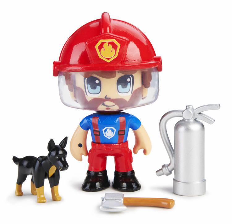 Pinypon Action Brandman med hund