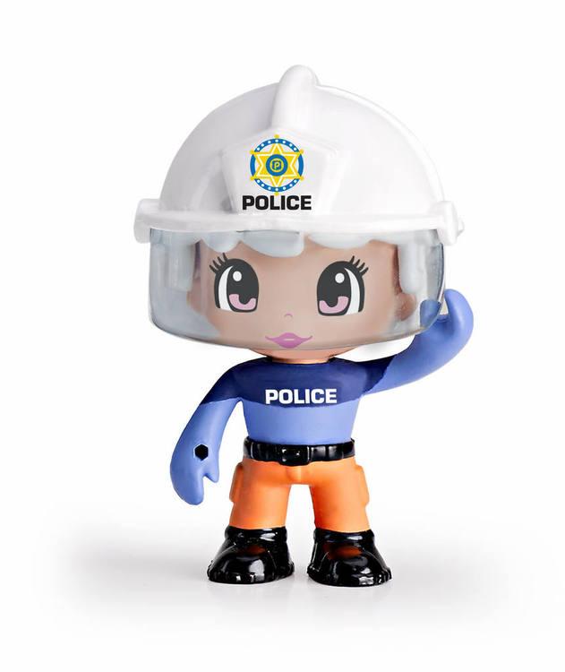 Pinypon Action Räddningsfigur Poliskvinna