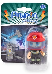 Pinypon Action Räddningsfigur Brandman