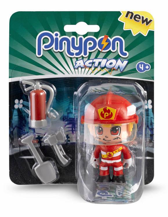 Pinypon Actionfigur Brandman